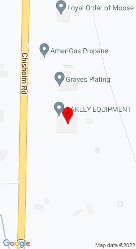 Google Map of Oakley Enterprises Inc. 4210 Chisholm Road, Florence, AL, 35630