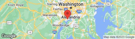 Map of 4212 DANDRIDGE TERRACE ALEXANDRIA, VA 22309