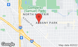 Map of 4215 West Lawrence Avenue CHICAGO, IL 60630
