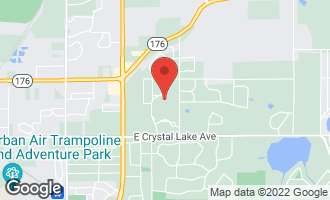 Map of 4217 Weatherstone Road CRYSTAL LAKE, IL 60014