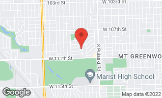 Map of 4220 Fairfax Street OAK LAWN, IL 60453