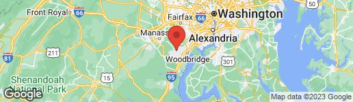 Map of 4221 Prince William Parkway Woodbridge, VA 22192