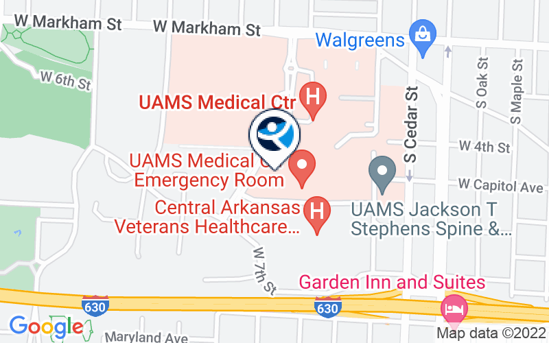 University of Arkansas for Medical Sciences Location and Directions