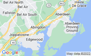 Map of Bar Harbor RV Park & Marina