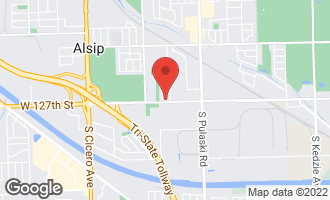 Map of 4228 West 127th Street ALSIP, IL 60803