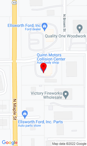 Google Map of Ingli Auto 423 Industrial Road, Ellsworth, WI, 54011
