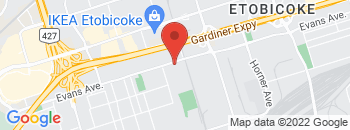 Google Map of 423+Evans+Avenue%2CToronto%2COntario+M8W+2T3