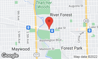 Map of 423 Edgewood Place #2 RIVER FOREST, IL 60305