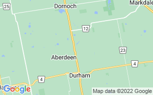 Map of Amazing Rocky Park Campground