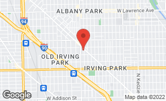 Map of 4232 North Harding Avenue 1N CHICAGO, IL 60618