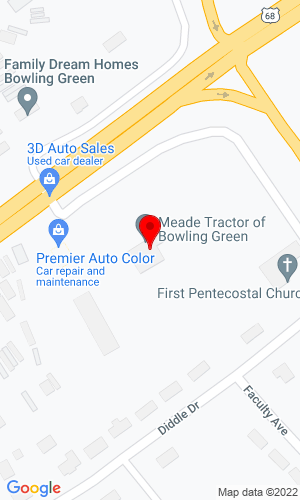 Google Map of Meade Tractor 4233 Russellville Road, Bowling Green, KY, 42101