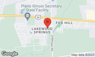 Map of 424 Foli Street PLANO, IL 60545
