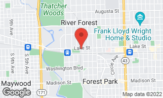 Map of 424 Park Avenue #603 River Forest, IL 60305