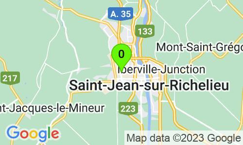 Carte du 425 A, boul. Industriel, St-Jean-sur-Richelieu, J3B 7Z3, Québec