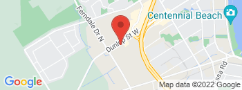 Google Map of 425+Dunlop+Street+West%2CBarrie%2COntario+L4N+1C3