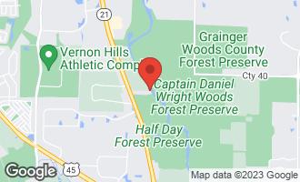 Map of 425 Benjamin Drive #504 VERNON HILLS, IL 60061