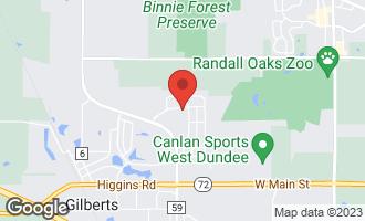 Map of 425 Columbia Lane GILBERTS, IL 60136