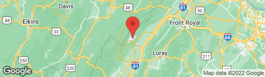 Map of 425 DALE DRIVE MOUNT JACKSON, VA 22842