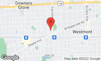 Map of 425 Franklin Street DOWNERS GROVE, IL 60515