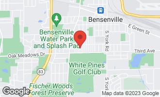 Map of 425 Miner Street BENSENVILLE, IL 60106