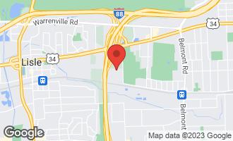 Map of 425 Walnut Creek Lane #1402 LISLE, IL 60532