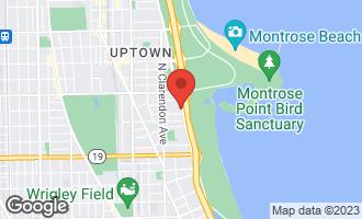 Map of 4250 North Marine Drive PH2916 CHICAGO, IL 60613