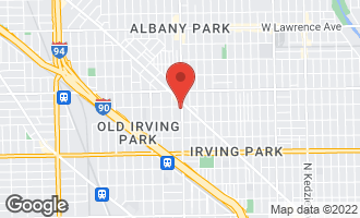 Map of 4250 North Pulaski Avenue CHICAGO, IL 60641