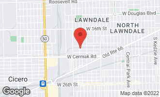 Map of 4258 West 21st Street Chicago, IL 60623
