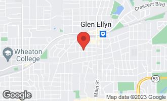 Map of 426 Ridgewood Avenue GLEN ELLYN, IL 60137