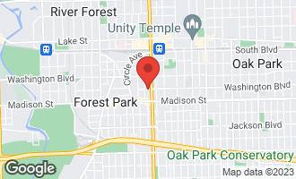 Map of 426 West Washington Street #3 OAK PARK, IL 60302