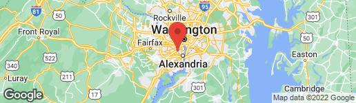 Map of 4276 35TH STREET S ARLINGTON, VA 22206