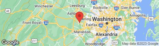Map of 42773 CENTER STREET CHANTILLY, VA 20152