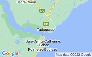 Map of Camping Tadoussac