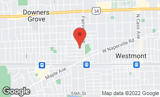 Map of 428-1 Wilson Street Downers Grove, IL 60515