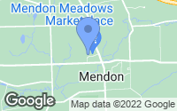 Map of Mendon, NY