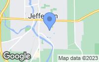 Map of Jefferson, WI