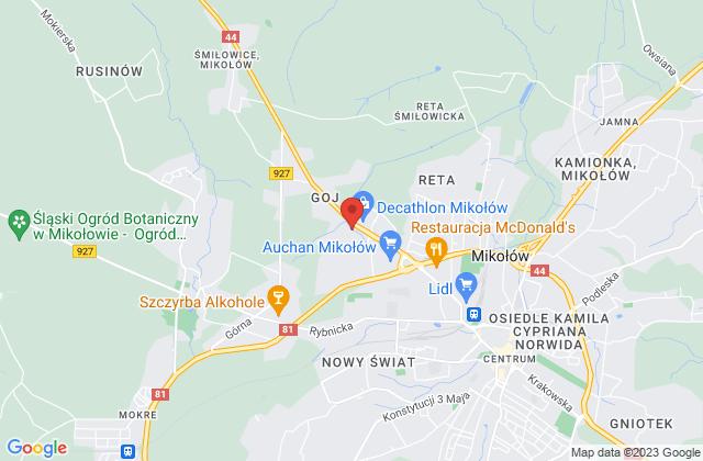 Wyświetl Eugeniusz Gruchel,FHU Gruchel na mapie