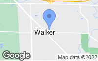 Map of Walker, MI