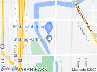 Map of Bay View Bark Dog Boarding options in Milwaukee | Boarding