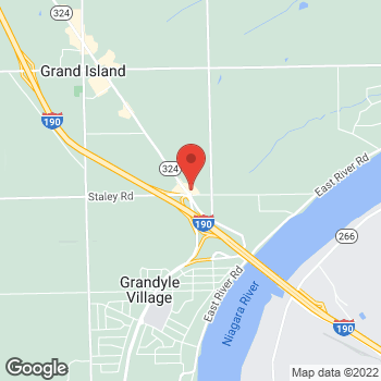 Map of Tim Hortons at 1685 Grand Island Blvd, Grand Island, NY 14072