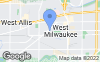 Map of West Milwaukee, WI