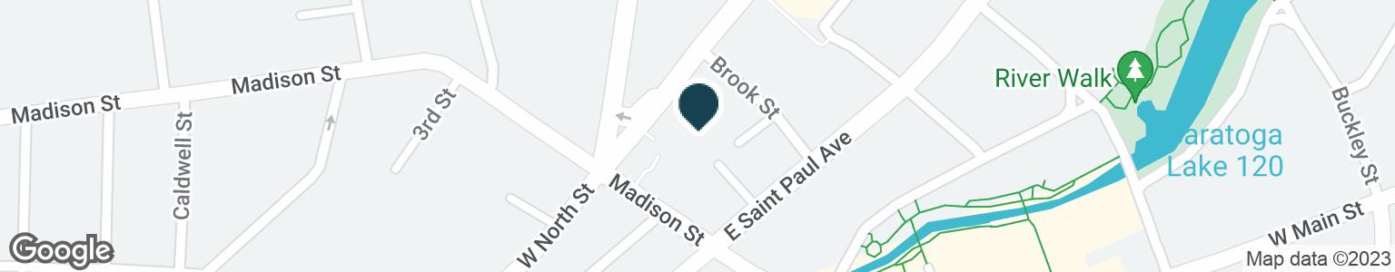 Google Map of230 MADISON ST