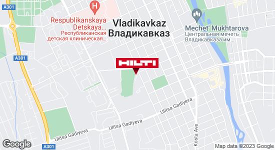 Региональный представитель Hilti в г. Владикавказ