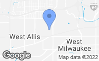 Map of West Allis, WI