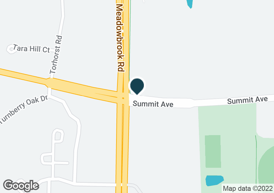 Google Map of601 MEADOWBROOK RD