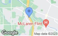 Map of Flint, MI
