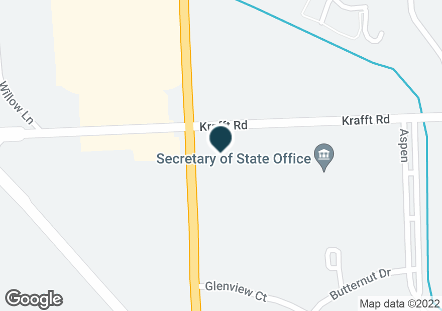 Google Map of3990 24TH AVE