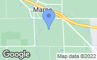 Map of Marne, MI