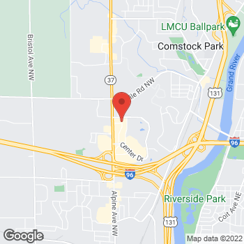 Map of location-map at 3390 Alpine Ave NW, Walker, MI 49544