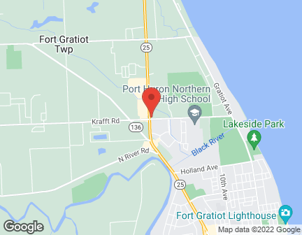 Map of 4010 24th Avenue in Fort  Gratiot